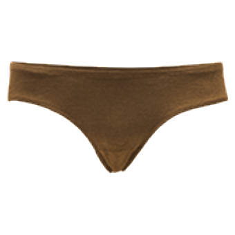 Women's Bamboo Hip - Bison Brun