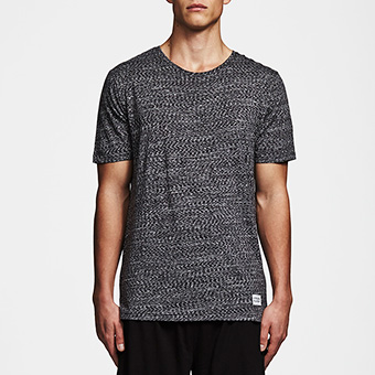 Bamboo Tee - Space Black