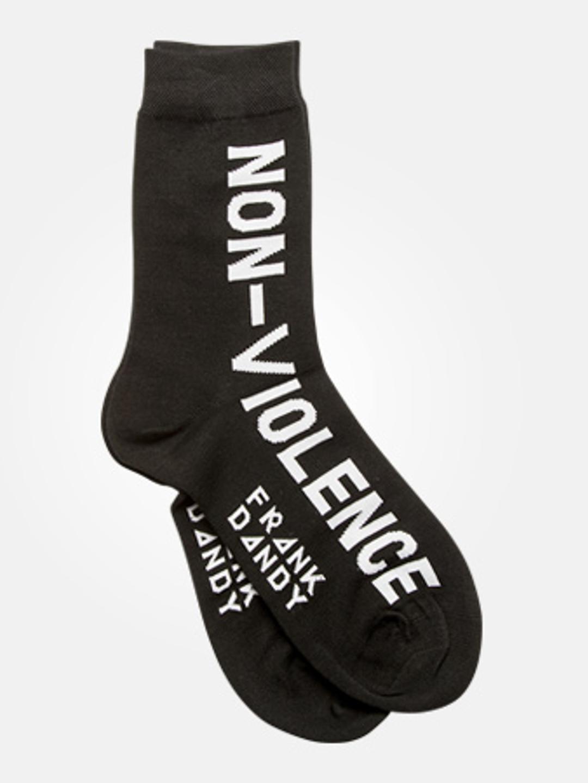 FD x NV Non-Violence - Bamboo Socks Black