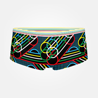 Women's Rings Boxer - Svart