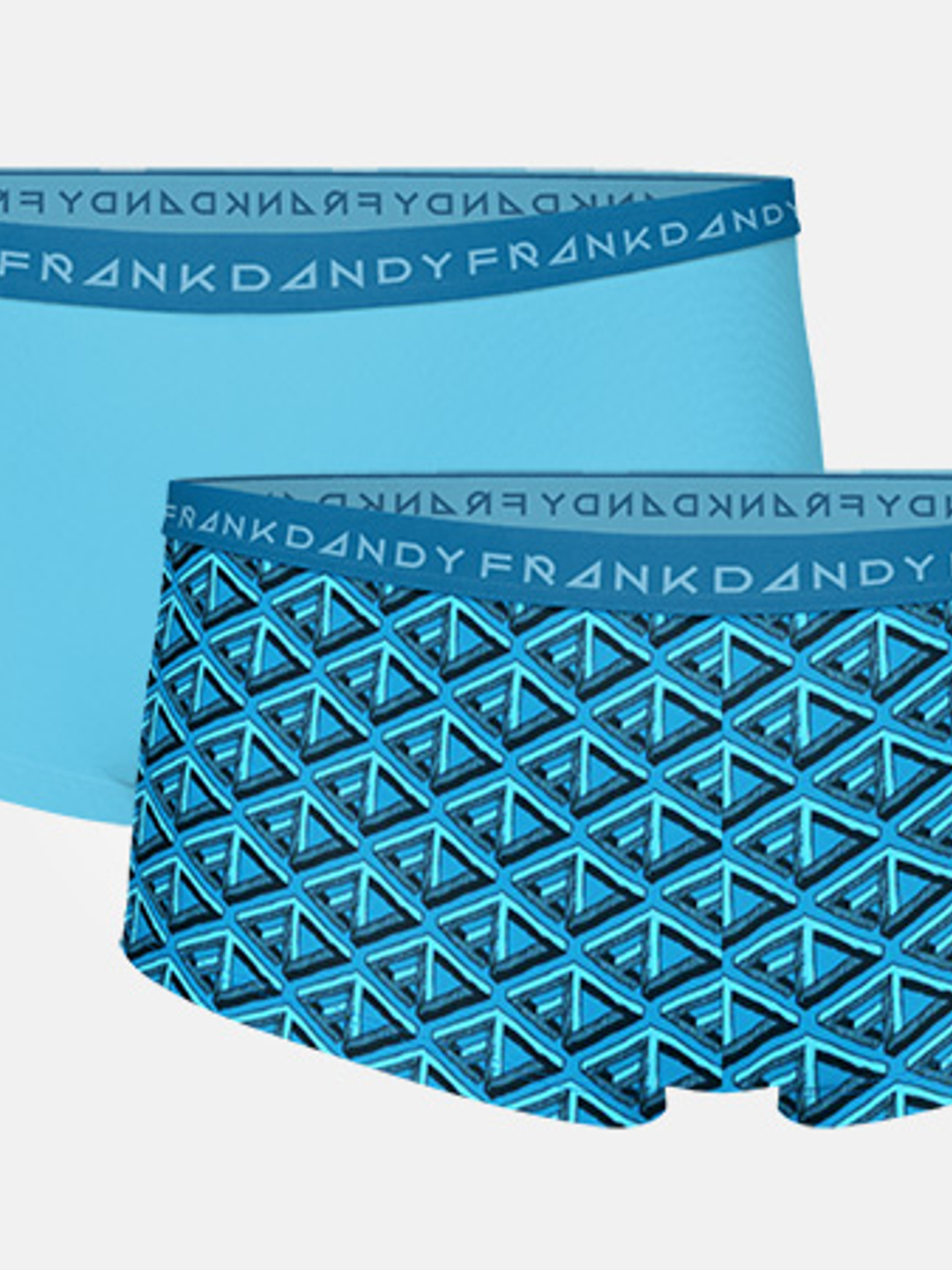 2-pack Women's FD Boxer - Lyons Blue/Hawaiian Ocean