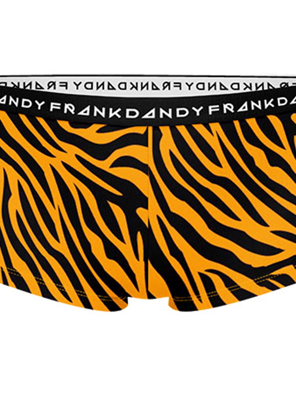 Women's Tiger Boxer - Orange