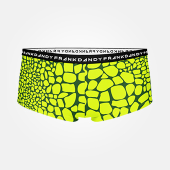 Women's Crocodile Boxer - Green