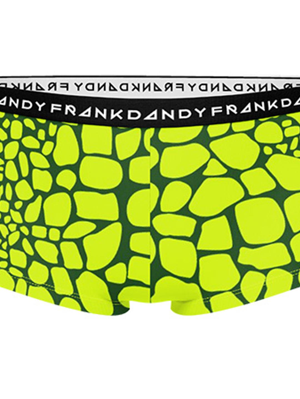Women's Crocodile Boxer - Grön