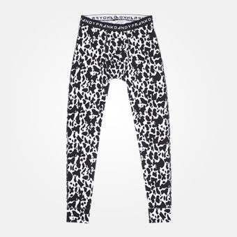 Cow Long Johns - Vit