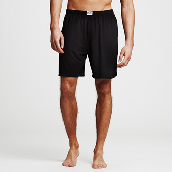 Bamboo Lounge Shorts - Svart