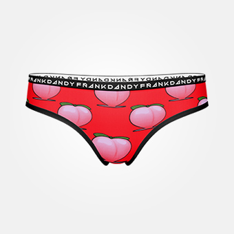Women's Peaches Hiphugger - Red
