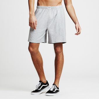 Bamboo Lounge Shorts - Grey Melange