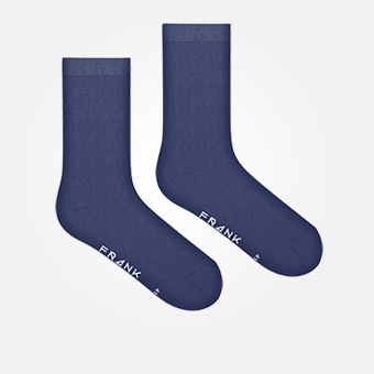 Dark Navy - Bamboo Solid Crew Sock