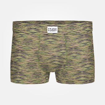 Bamboo Trunk - Space Military Green
