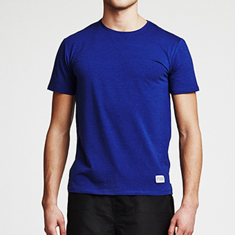 Bamboo Tee - Dark Blue