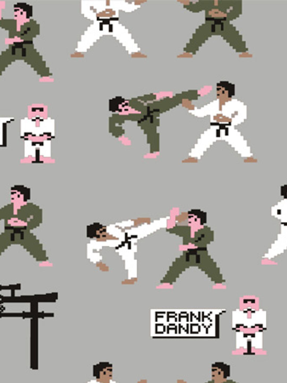 Pixel Sensei Boxer - Light Grey