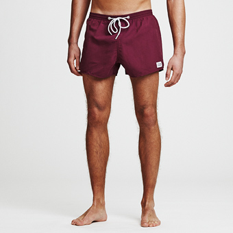 Breeze Swimshorts - Vinröd