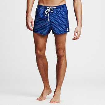 Ninja Dart Swimshorts - Dark Blue