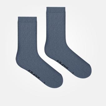 Bamboo Solid Crew Sock - Vintage Indigo