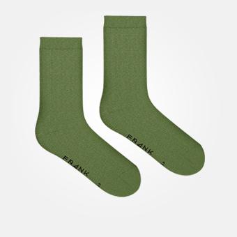 Militärgröna strumpor - Bambu