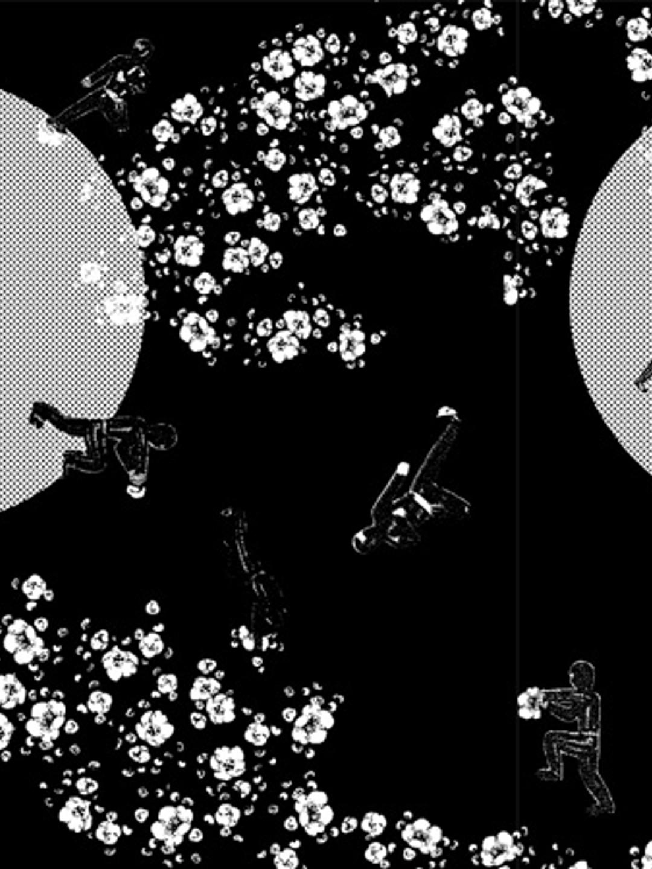 2-Pack Garden Ninja Boxer - Grey Melange/Black