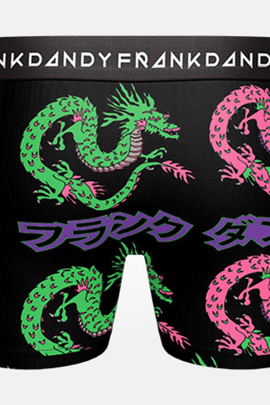2-Pack Dragon Boxer - Svart/Svart