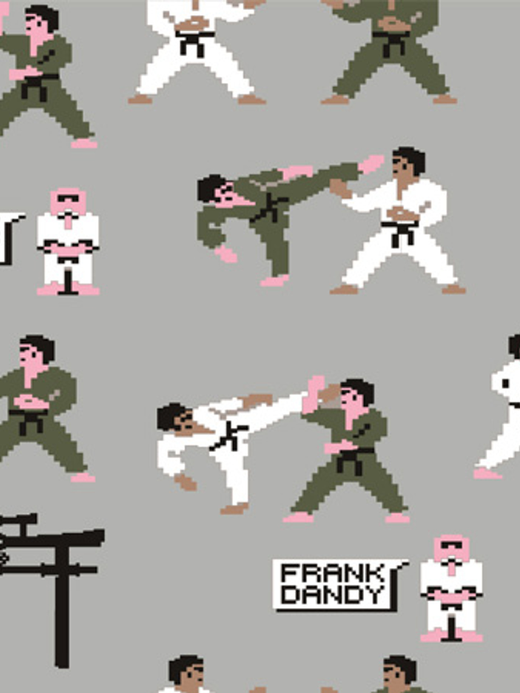 2-Pack Pixel Sensei Boxer - Black/Light Grey