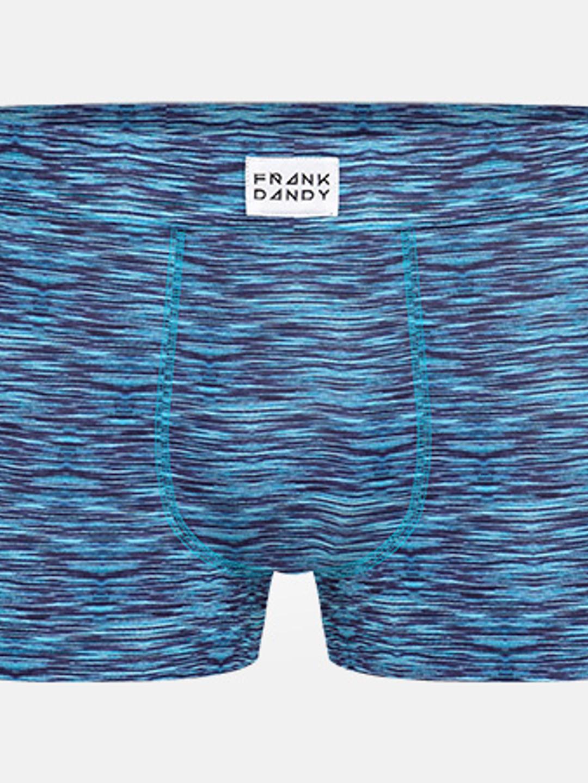 2-Pack Bamboo Trunk - Svart/Blåmelerad