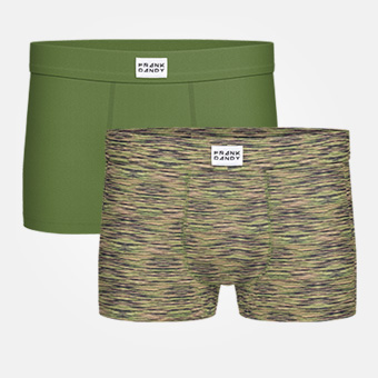 2-Pack Bamboo Trunk - Military Green/Space Military Green