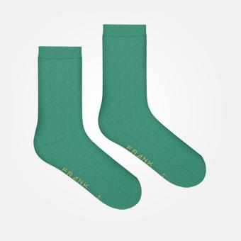 Dark Green - Bamboo Socks