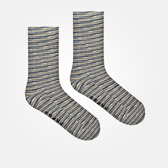 Space Grey - Bamboo Socks